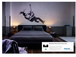 PHILIPS: 'EVERY TRACK IN EVERY ROOM'