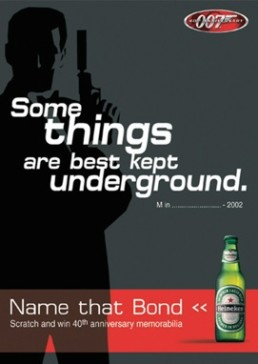 HEINEKEN - 007 - BEST SERVED CHILLED