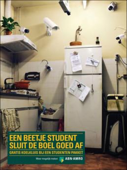 ABN AMRO - EEN BEETJE STUDENT SLUIT DE BOEL GOED AF