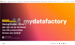 Microsoft mydatafactory