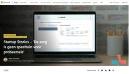 Startup Stories – 'De zorg is geen speeltuin voor probeersels'